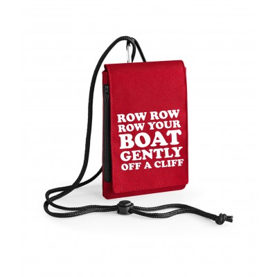 Row Row Row - Phone Pouch