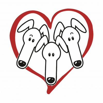 Greyhound Heart Tee