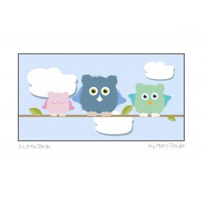 3 Little Birds - A3 Print