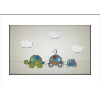 3 Tortoises - A4 Print