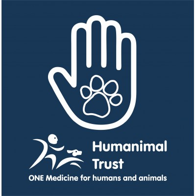 Humanimal Trust - Hand Paw - Adult Zipped Hoodie