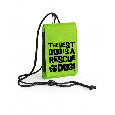 Best Dog Is A Rescue Dog - Phone Pouch