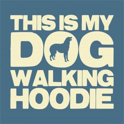 Dog Walking Hoodie (Breed)