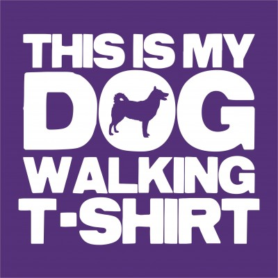 Dog Walking T-Shirt (Breed)