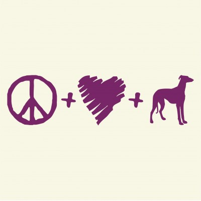 Peace, Love & Greyhounds