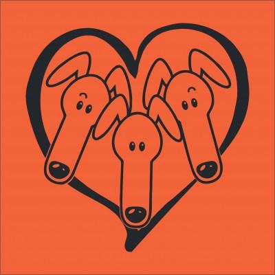 3 Greyhounds Heart