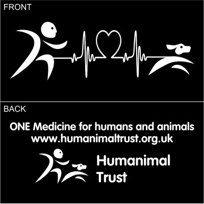 Humanimal Trust - Heartbeat - Adult Tee Shirt