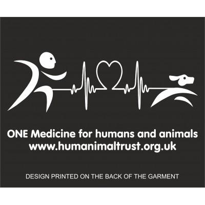 Humanimal Trust - Heartbeat - Adult Zipped Hoodie