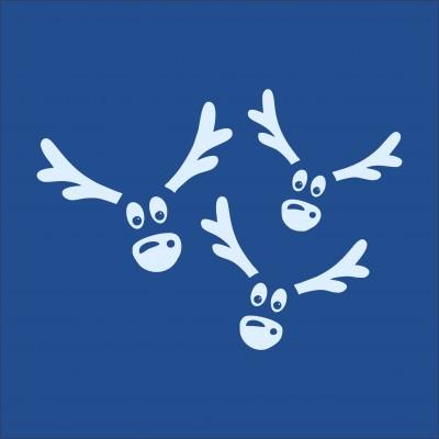 Multiple Reindeer