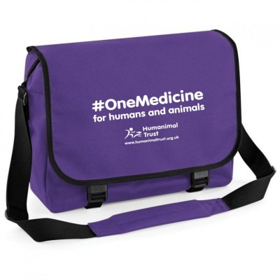 Humanimal Trust - One Medicine - Messenger Bag