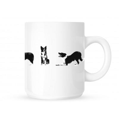 Border Collie Line - Coffee Mug