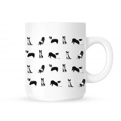 Border Collie Group - Coffee Mug