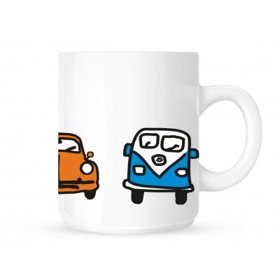 Cartoon VW's - Coffee Mug