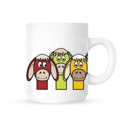 Donkeys - Coffee Mug