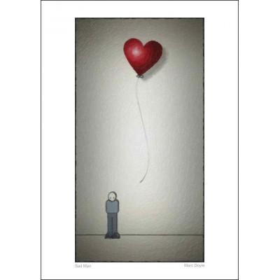 Sad Man - A4 Print