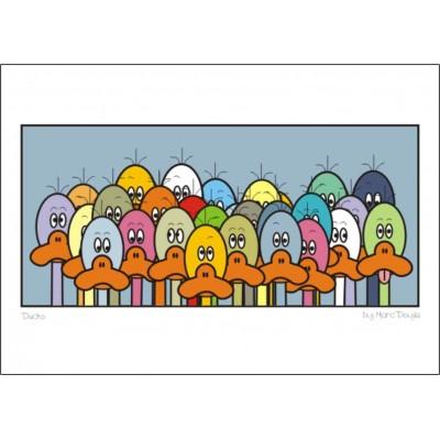 Ducks - A3 Print