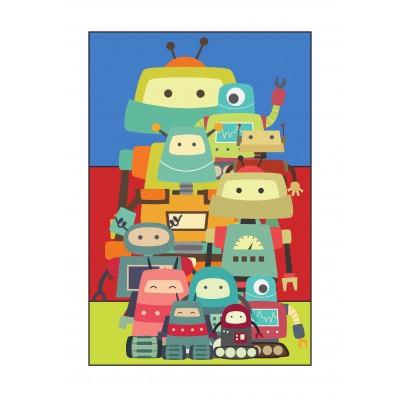 Robots - A3 Print